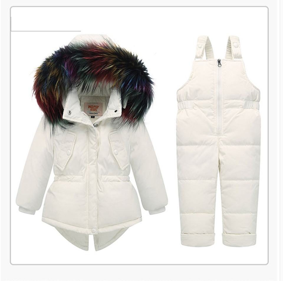 1-3-_13  Kids's Clothes Winter Lady Go well with Ski Jacket -30 Diploma Russian Boys Ski Sports activities Down Jacket +Jumpsuit Units Thicker Overalls HTB1c2mRlf6TBKNjSZJiq6zKVFXar