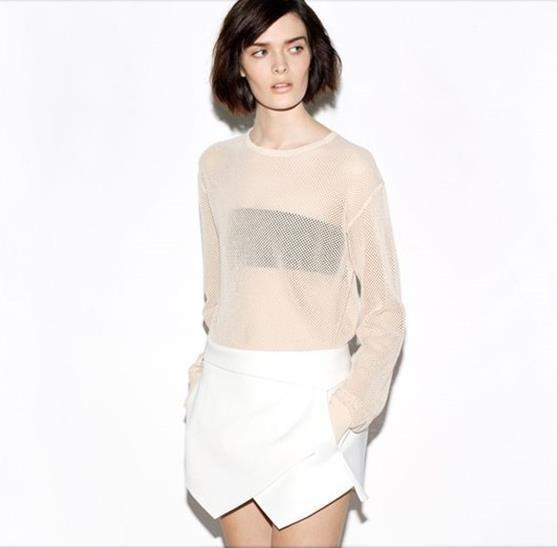 ᐂPatchwork Casual Shorts solides Pour Femmes D été En Mousseline de ... 457cdc0af783