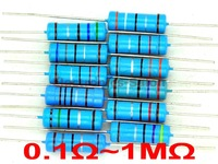 3 Watts Metal Film Resistor Mixed Value E 12 Series Assorted Kit 0 1 1M Ohm