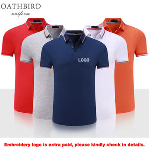 custom logo uniform polo shirt
