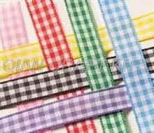 Лента в клетку шириной 10 мм 120 ярдов лента набор из нескольких