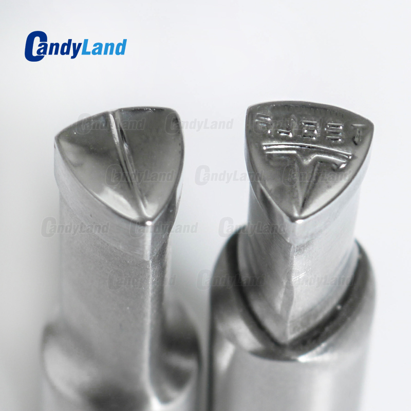 CandyLand TS Milk Tablet Die 3D Punch Press Mold Candy Punching Die Custom Logo Calcium Tablet Punch Die For TDP5 Machine-in Punching Machine from Tools    1