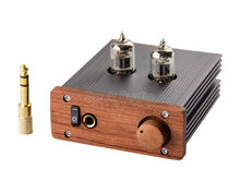 Music Hall Single-ended Class A Stereo 6J1 Tube Headphone Amplifier Audio HiFi Preamplifier New Free Shipping