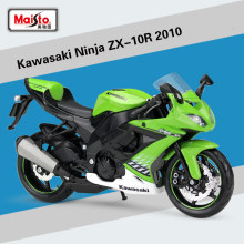 High simulation 1:12 Kawasaki Ninja ZX-10R 2010 Alloy Motorcycle Model Metal Motorcycle Toys Kids Gifts Free Shipping(China)