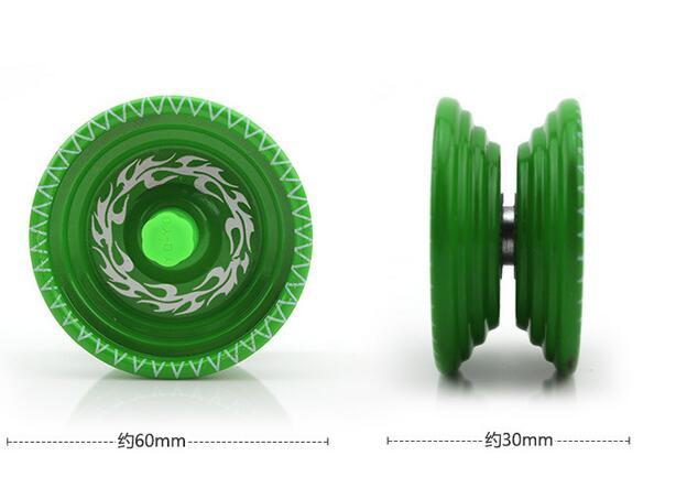 Alloy Cool Aluminum Design High Speed Professional YoYo Ball Bearing String Trick Yo-Yo Kids Magic Juggling Toy