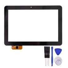 Pantalla Táctil de 10.1 pulgadas para Edison 2*3 Quad Core Tablet PC Reemplazo Digitalizador Del Sensor de Cristal con Herramientas Gratuitas de Reparación