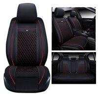 PU leder sitzbezüge für 2015 Nissan Murano autositze abdeckung zubehör set benutzerdefinierte komfortable lordosenstütze auto sitzkissen