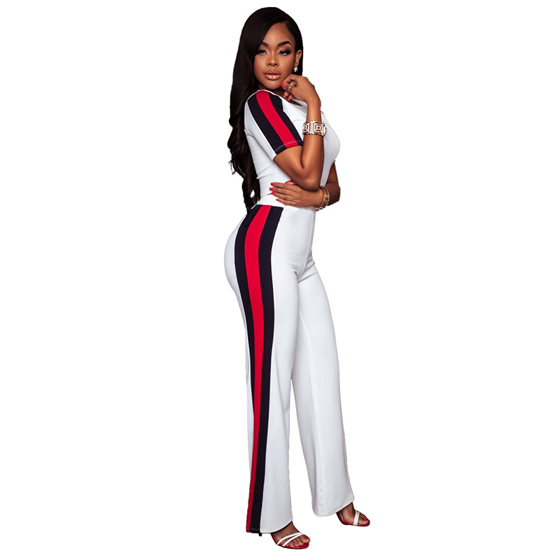 Misstyle Women US Fashion Loose Casual 2 pieces T-shirt + Long Pants Daily Wear Lady Leisure Clothing Tracksuit High Quality