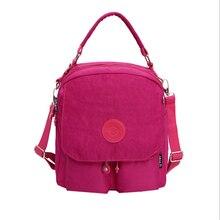Женщины рюкзак водонепроницаемый нейлон рюкзак 7 цветов женские рюкзаки Женский Повседневная сумка Многофункциональный рюкзак