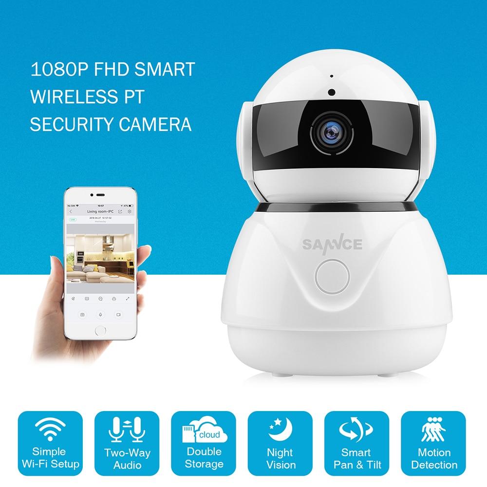 CAMERA SANNCE 1080 p Senza Fili Wifi IP Camera Full HD di Sicurezza Domestica Baby Monitor Mini Telecamera di Sorveglianza di Rete IRCut Visione Notturna CCTV