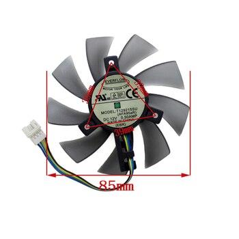 85 MM T129215SU Ventilateur De Refroidissement Pour Gigabyte GeForce GTX 1050Ti GTX1060 RX 480 470 570 580 GTX 1060 G1 Ventilateur Refroidisseur De Carte Graphique
