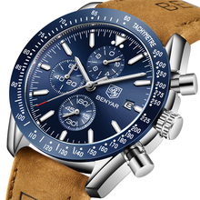 BENYAR 2018 新メンズ腕時計ビジネスフル鋼クォーツトップブランドの高級カジュアル防水スポーツ男性腕時計レロジオ Masculino