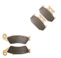 Brake Pads Set For KAWASAKI Dirt KLX650 KLX 650 A1 3 C1 4 KLX650C G245 1993