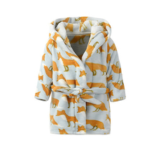 Cute Animals Printed Soft Robe for Babies