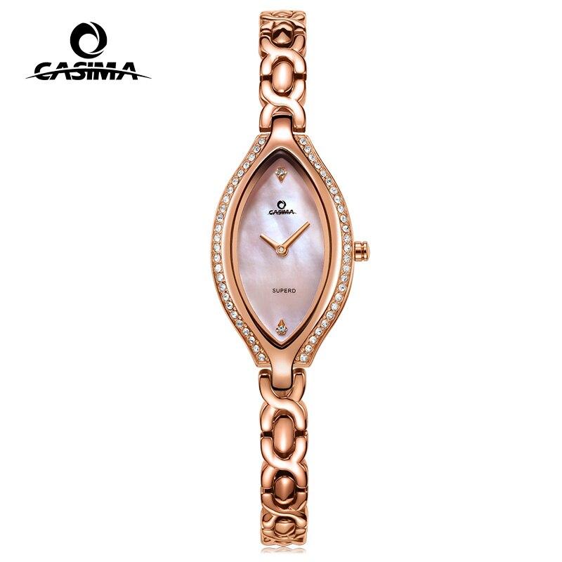 แฟชั่นแบรนด์หรูนาฬิกาผู้หญิง Casual สตรีนาฬิกาข้อมือควอตซ์นาฬิกากันน้ำหญิง CASIMA #2618-ใน นาฬิกาข้อมือสตรี จาก นาฬิกาข้อมือ บน AliExpress - 11.11_สิบเอ็ด สิบเอ็ดวันคนโสด 1