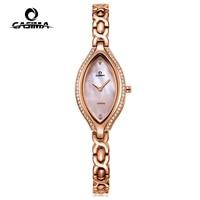 Mode Luxus Marke Uhren Frau Beiläufigen Frauen Quarz Armbanduhr Wasserdichte Weibliche CASIMA #2618-in Damenuhren aus Uhren bei