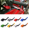 CNC Motorcycle Brakes Clutch Levers For YAMAHA MT 09 MT09 MT 09 Tracer SR 2014 2015