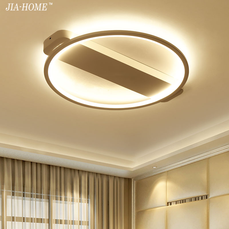 round ceiling lights black white color for living room bedroom modern led ceiling lamp dimming home light luminarias Plafonnier black and white round lamp modern led light remote control dimmer ceiling lighting home fixtures