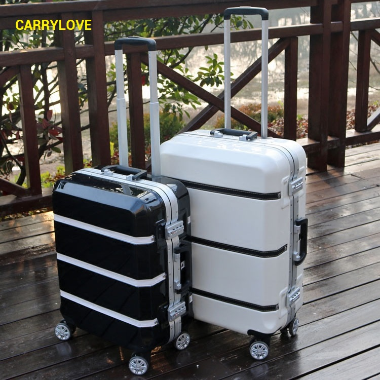 CARRYLOVE fashion luggage 20/24/26/29 size perfect High-quality PC Rolling Luggage Spinner brand Travel Suitcase 700c full carbon road bike wheel 50mm deep novatec powerway hub in 20 holes front bicycle wheel only 3k matte finish