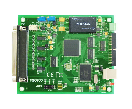 USB 16 road high speed and high precision (13 bit AD) data acquisition module LabVIEW routine 100Khz