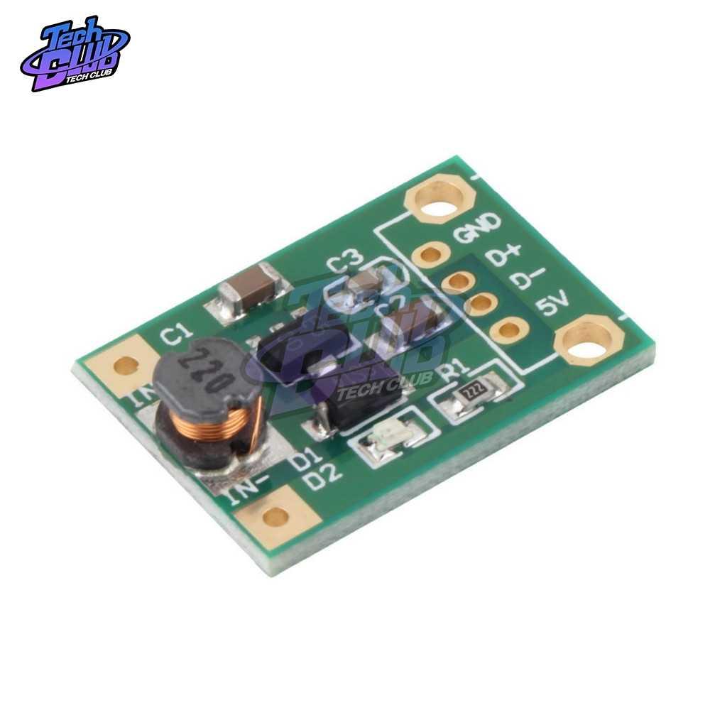600mA DC-DC Mini Module d'alimentation 1-5V à 5V convertisseur de suralimentation pour Arduino