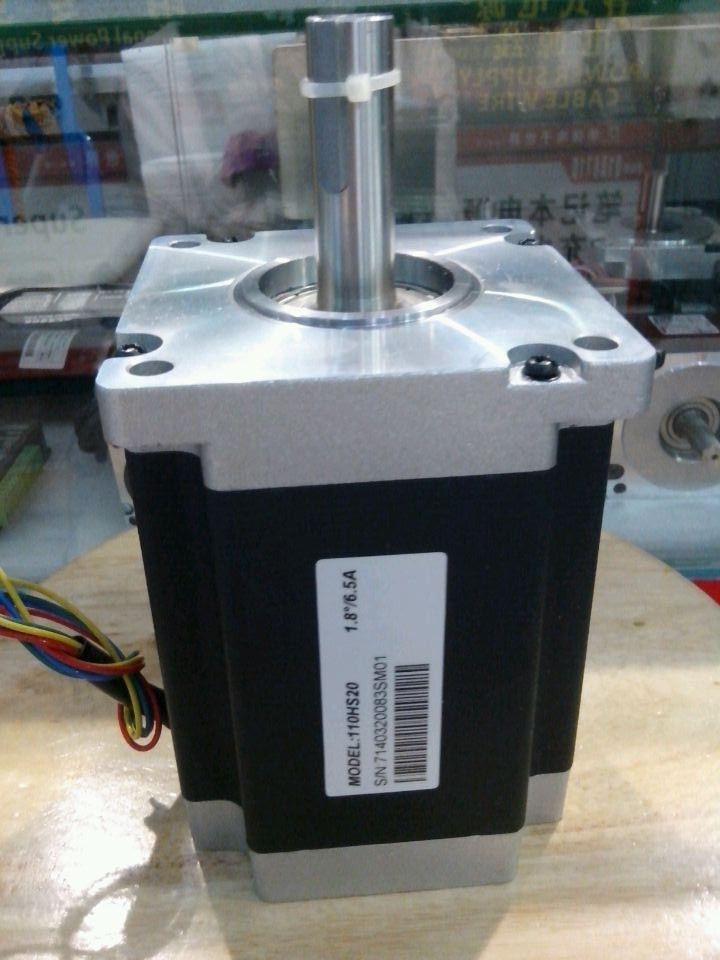 New Leadshine 2-phase stepper motor 110HS20 NEMA 42 step motor out 20NM Hybrid motor current 6.5A CNC stepper system good choose periche корректор цвета out colors personal phase 1 phase 2 2 х 150 мл