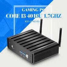 Настольный компьютер I3 4010u Barebone пк планшет компьютерная поддержка окно 8.1 / 7 / XP промышленного тонкий клиент