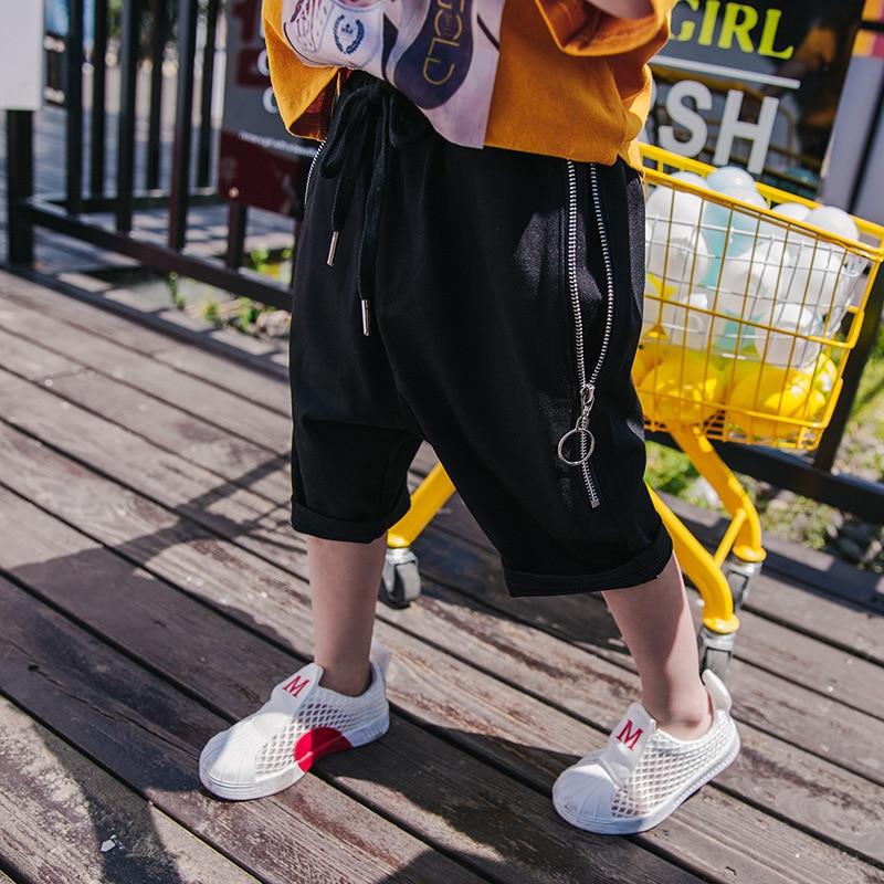 Chłopięce spodnie 2018 nowe letnie dziecięce spodnie letnie - Ubrania dziecięce - Zdjęcie 1
