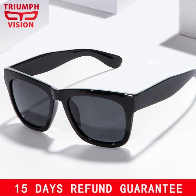 c73e0ce926bbe TRIUNFO de VISÃO Óculos De Sol Dos Homens Polarizados Óculos de Sol Dos Homens  de Condução