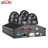 Linux System 4G GPS 4CH AHD Car Dvr IOS Andriod PC Software Free 720P Mobile Dvr
