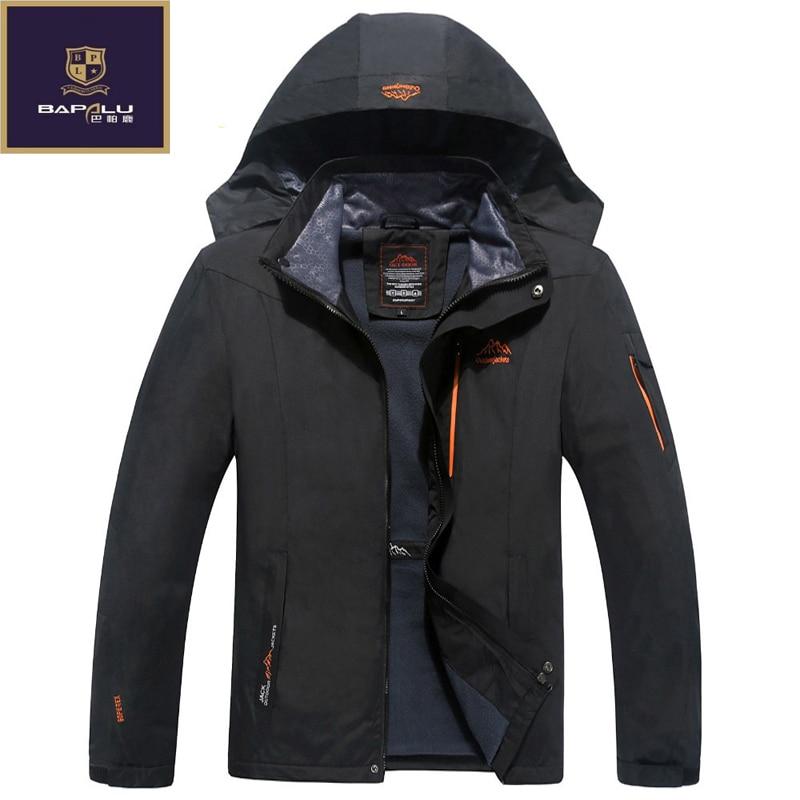 Spring Autumn font b jacket b font male Plus Size L 5XL 6XL 7XL 8XL font