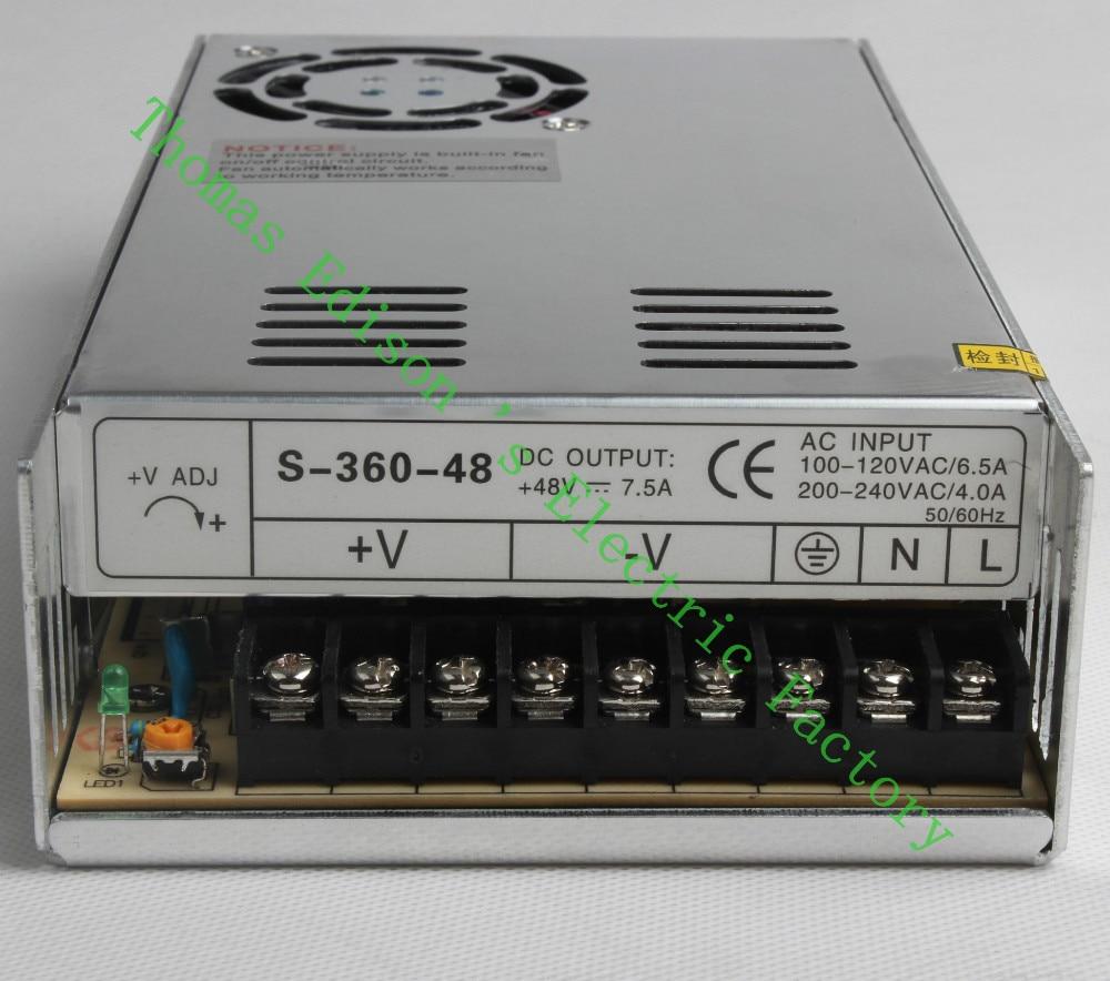 DIANQI High Quality Power Supply 48V 5V 12V 13.5V 15V 24V 36V 48V 360W AC to DC Power Supply AC DC Converter high quality 2 years warranty 350w 48v 7 3a power supply