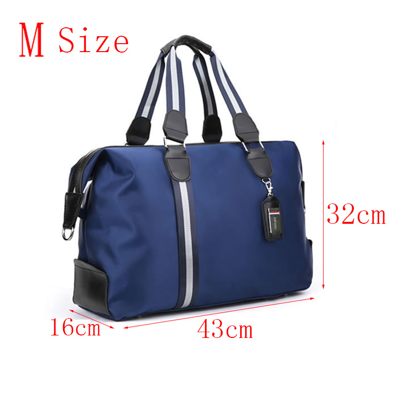 The New Nylon Travel Bag Large Capacity Women Hand Luggage Travel Duffle Bags Nylon Weekend Bags Men Multifunctional Travel Bags