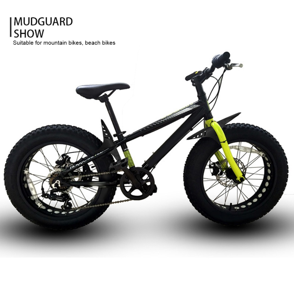 FETESNICE Latest Design Bicycle Mudguard Bike Fender Fit For Mtb/Road Bike Fat Tire Bike 26, 27.5, 29 Plus Size bike