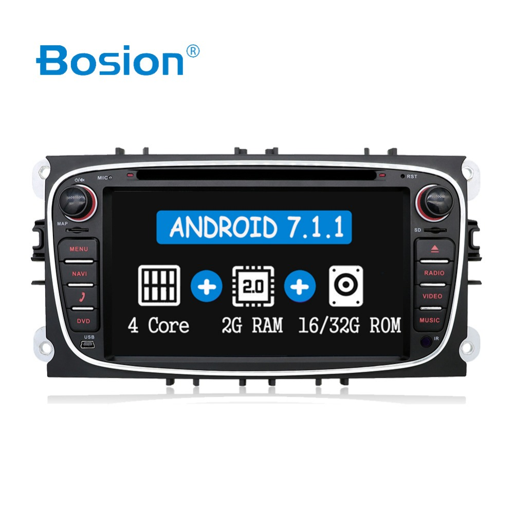Quad core 2DIN Android 8 0 car dvd GPS car dvd for Ford focus Mondeo S