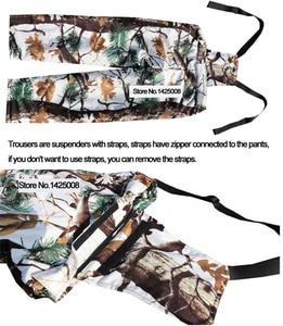 Image 4 - コールド天気厚み裏地フリース松迷彩雪バイオニック狩猟コートジャケットとズボン冬防水ghillieのスーツ