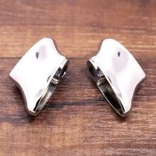 Chrome traseiro volta curta singal suportes para harley 08-13 dyna gordura bob fxdf & sportster modelo