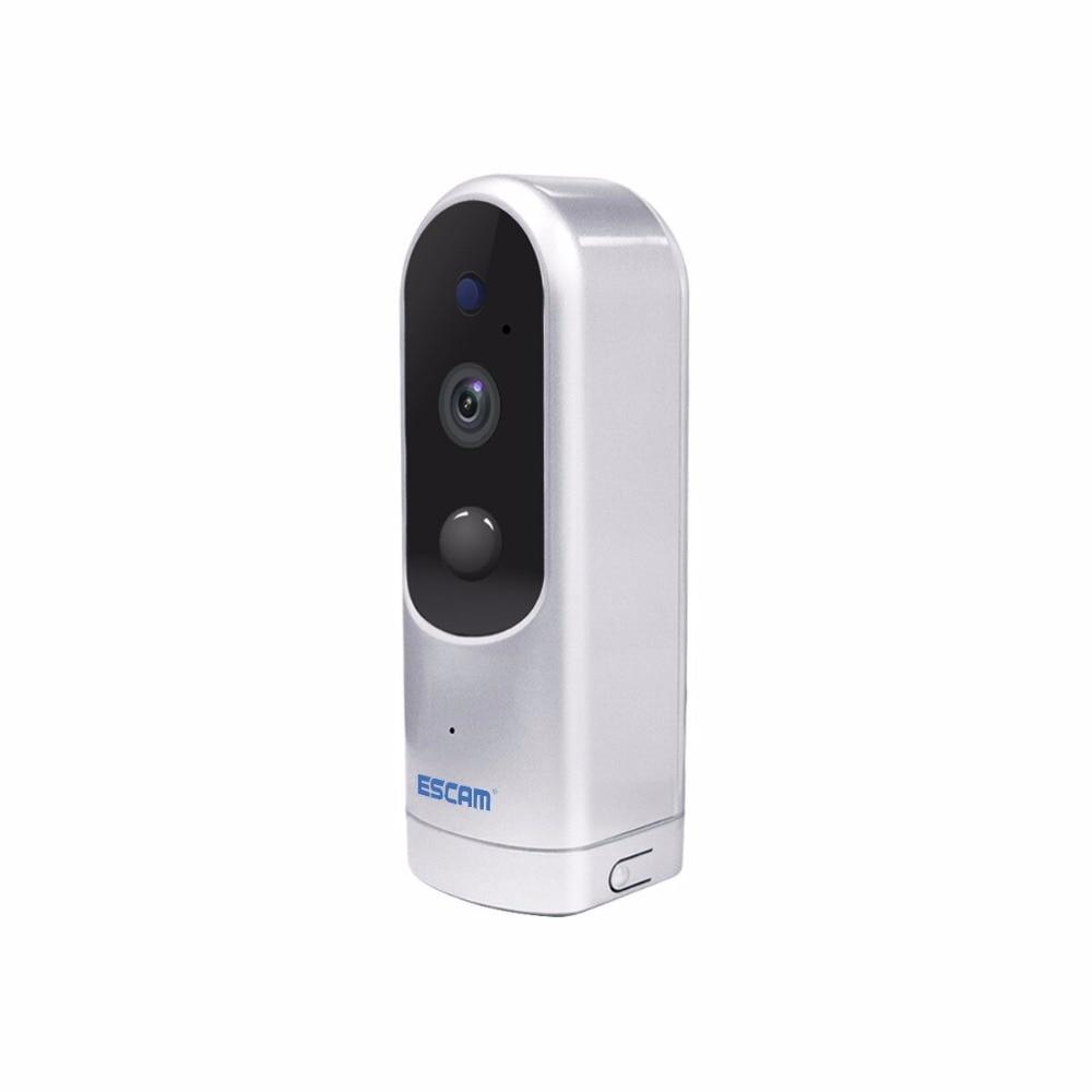 Escam Дверные звонки qf210 IP ИК Камера Мини Wi-Fi HD 960 P Поддержка ONVIF Камеры Скрытого видеонаблюдения Камера Видеоняни и Радионяни