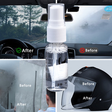 Quick Spit Anti-fog Spray prevents clouding