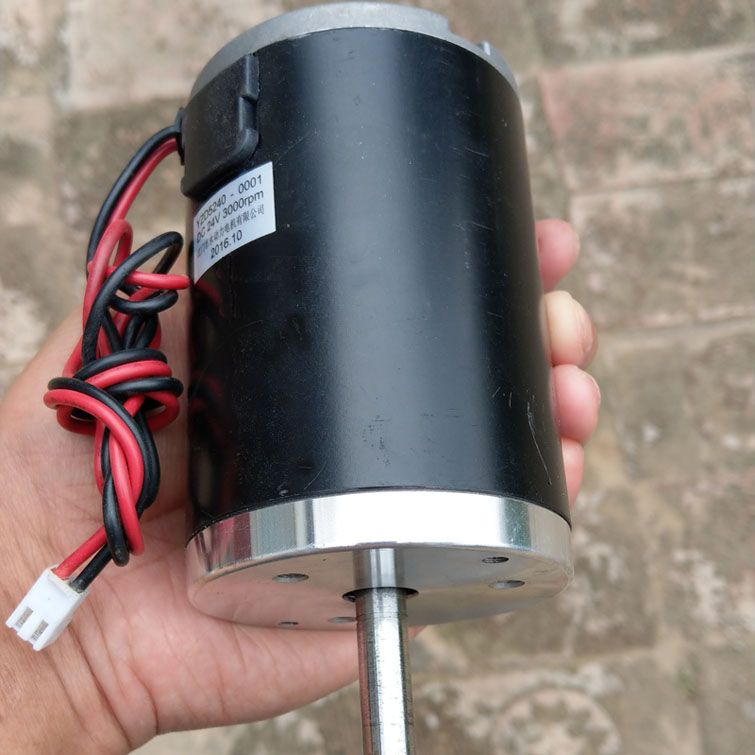 12V/24V volt DC high power 180W 3000rpm motor hand crank wind pedal hydraulic permanent magnet generator charging bottle