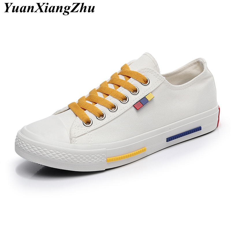Women casual sneakers 2018 new arrivals fashion lace-up white/black women shoes sewing shallow canvas shoes women student flats 2018 new arrivals women flats shoes fashion bling women flats platform loafers lace up women casual shoes black