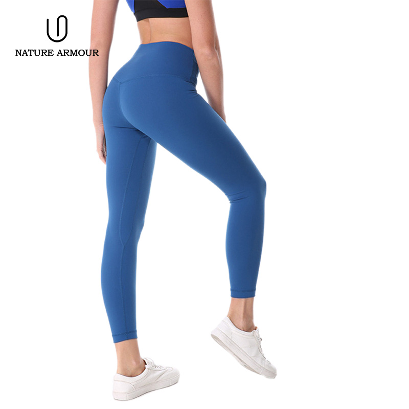 NATURE ARMOUR 2018 NEW yoga pants sport leggings gym woman sportswear sports woman fitness shorts Running quick-drying pants active neon yellow quick drying leggings