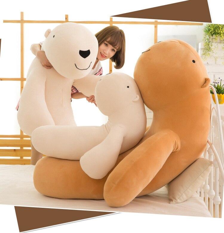 large 110cm cartoon Capybara plush toy soft doll hugging pillow birthday gift s2779