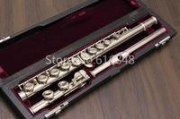 Мурамацу M 85 C мелодия флейты трубки Мельхиор с серебряным покрытием поверхности Марка Качество музыкальный инструмент с корпусом БЕСПЛАТН
