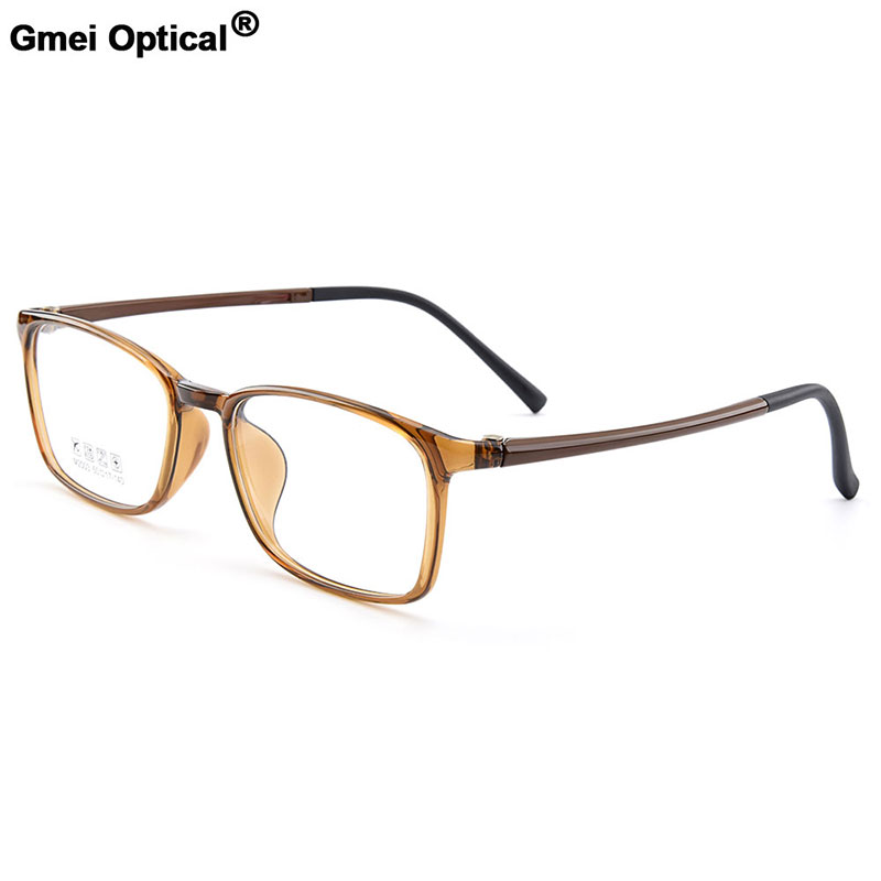 Gmei Optical Urltra-Light TR90 Full Rim Optical Eyeglasses Frames Men Women Plastic Myopia Presbyopia Spectacles 6 Colors M2003