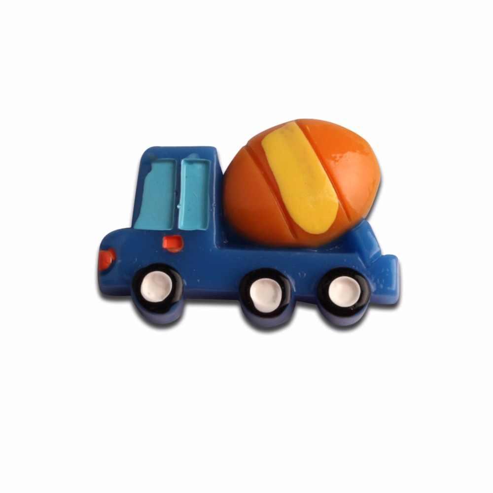 10 шт., украшения для транспортировки автомобилей из смолы, милые каваи с плоской задней частью, кабошоны, украшения для скрапбукинга, DIY Аксессуары