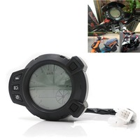 Motorcycle 10000RMP LCD Digital Backlight Tachometer Tacho Control Gauge Speedometer Odometer For Yamaha Zuma BMK x125 YW125 BWS