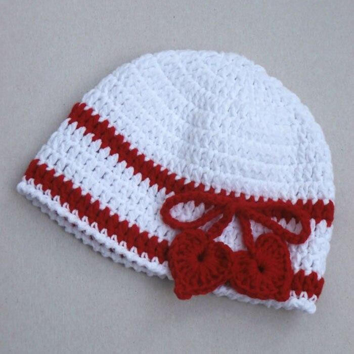 Valentines Day Love Hat crochet summer Baby Heart Hat Crochet baby Infant  Hat Newborn Baby Girl Hat c49605ba59e