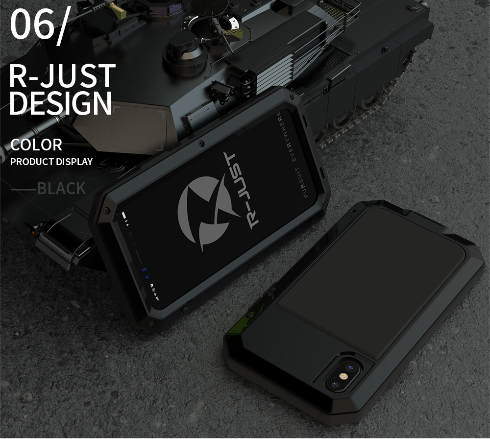 HTB1c2t eMmTBuNjy1Xbq6yMrVXaN Heavy Duty Protection Doom armor Metal Aluminum phone Case for iPhone 11 Pro Max XR XS MAX 6 6S 7 8 Plus X 5S 5 Shockproof Cover