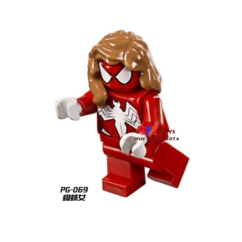 Brilliant 50pcs Starwars Superhero Spider-girl Series Building Blocks Bricks Friends For Girl Kids Children Toys Brinquedos Menina Delicious In Taste Model Building Toys & Hobbies
